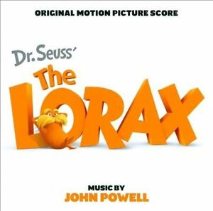 NEW Dr. Seuss' The Lorax [Score] (Audio CD)