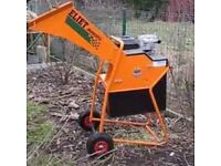 Chipper shredder gardening