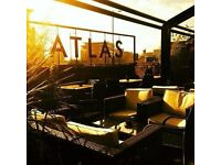 Chef Required at Atlas Bar, Deansgate - competitive rate of pay and sociable hours offered