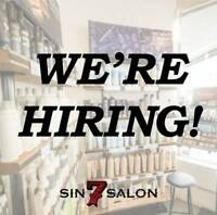 Looking for Stylists to join our team! - 1 year min. experience
