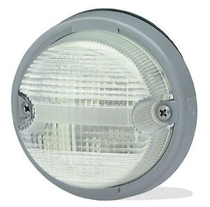 Grote #62011 OE-Style Dual-System Backup Lamp Grey Bezel - NEW