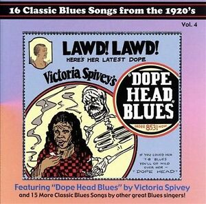 NEW 16 Classic Blues Songs from the 1920's, Vol. 4: Dope Head Blues (Audio CD)