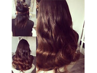 HAIR EXTENSIONS Leicester LA Weave micro nano rings fusion mobile salon hairdresser afro white asian