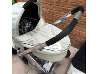BABYSTYLE OYSTER CARRYCOT - various colours, £15 each; or £20 with rain cover protector!