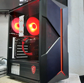 Ryzen GAMING PC, RX 580 8GB *NEWLY BUILT, NEVER USED*