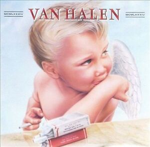 1984 by Van Halen (CD, 1984, Warner Bros.)