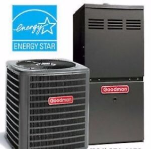 GOODMAN Furnaces & Air Conditioners - Rent to Own $100 Gift Card