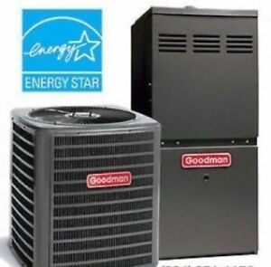 GOODMAN Furnaces & Air Conditioners - Rent to own - Rebates