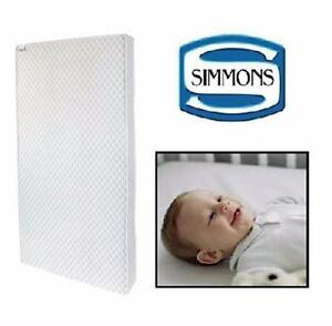 "NEW SIMMONS CRIB MATTRESS   SWEET DREAMS CRIB MATTRESS 27 ½"" x 51 1/2"" BABY FURNITURE BEDROOM NURSERY BEDDING 98838717"