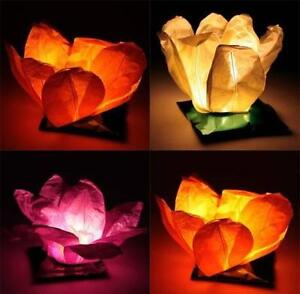 WATER FLOATING PAPER LANTERNS FOR SALE