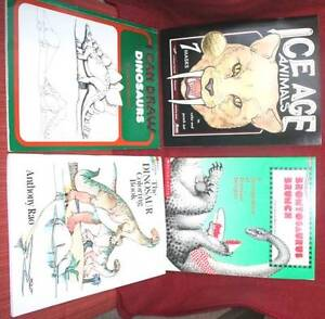 DINOSAURS-Ice-Age MASKS-Colouring-Activity-DRAWING books-teacher