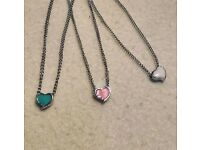 Beautiful heart necklaces