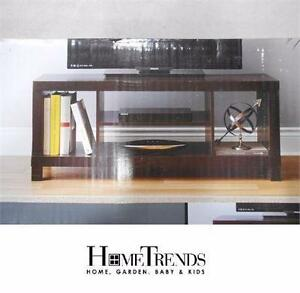 NEW HOMETRENDS HOLLOW CORE TV STAND   TV STAND - ESPRESSO HOME FURNITURE ENTERTAINMENT UNITS 91980416