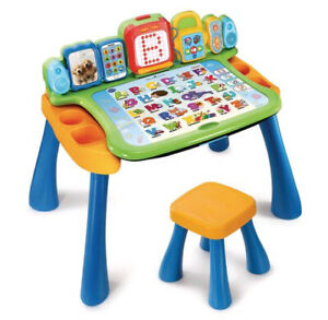 Vtech learning table. French language