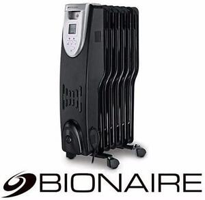 NEW BIONAIRE OIL FILLED RADIATOR   1500W HEATER HOME APPLIANCE SPACE HEATERS 98194087