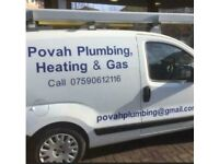 Plumber/gas engineer for repairs/installations. Boiler installations from £1400. Povah Plumbing
