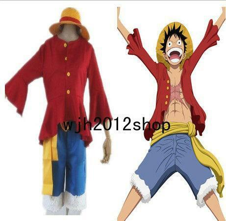 Luffy Cosplay: Japanese, Anime