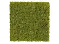 IKEA Hampen green carpet / rug