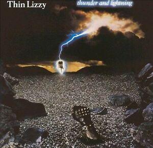 THIN LIZZY Thunder And Lightning CD BRAND NEW