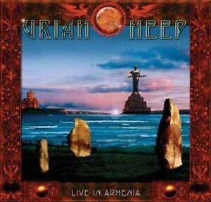 Uriah Heep-Live in Armenia CD with DVD NEW
