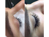 Individual eyelash extensions. Mobile therapist. Beauty offers now on. Semi permanent eyelashes