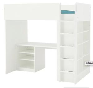 IKEA Stuva loft bed combo with desk