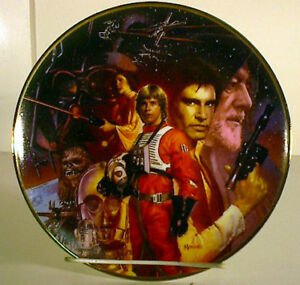 Star Wars A New Hope Trilogy Collection Plate