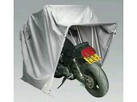 Motorcycle foldable cover
