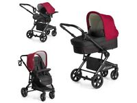 Red hauck pram for sale