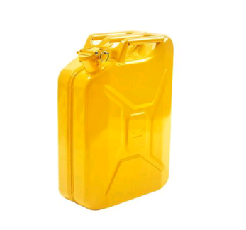20L Yellow Metal Jerry Can