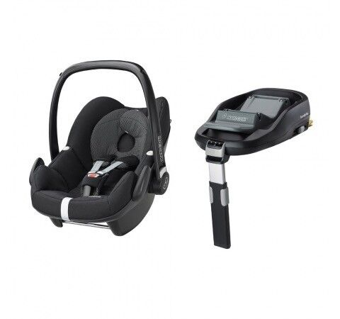 Maxi cosi pebbles car seat with family isofix base