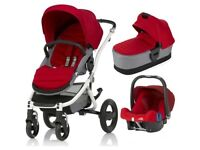 Britax Travel System AND isofix car seat base