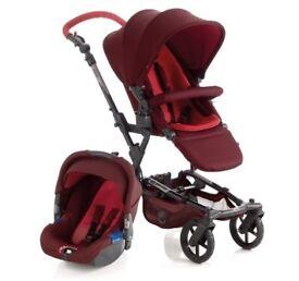 Jane epic pram/stroller with koos car seat