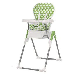 Obaby Nanofold Highchair in Lime