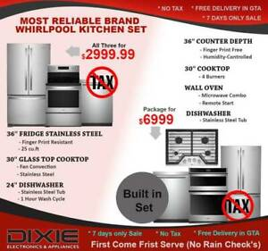 NOTAX SALE CHEAP GAS STOVE GE SAMSUNG LG WHIRLPOOL MISSISSAUGA