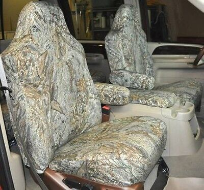 Mossy Oak Duck Blind Camo Marathon Superhide Custom Seatcovers- 2007 FJ Cruiser