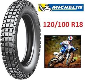 NEW MICHELIN 120/100R18 TIRE 188388272 Trial Competition (Trial/Off-Road) MOTORCYCLE DIRT BIKE