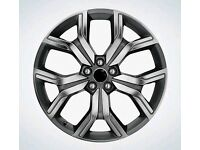 "LATEST 20"" RANGE ROVER EVOQUE AUTOBIOGRAPHY STYLE ALLOY WHEELS X4 BOXED 5X108 TRANSFORM THE LOOK"