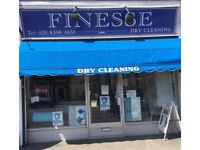 Dry Cleaners For Sale In Thames Ditton (Leasehold)! Superb Business! Wonderful Area! Super Busy!