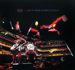MUSE Live At Rome Olympic Stadium CD/BLU-RAY BRAND NEW Region All