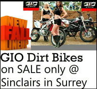 ****GIO DIRT BIKE AND SCOOTER SUPER CENTER***** (surrey newton)