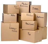 ** Your cheapest move option *** Hire us to load & unload your t