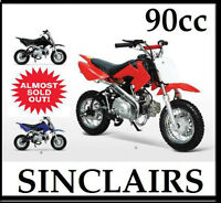 *****GREAT STARTER DIRT BIKE 90CC SEMI AUTO****