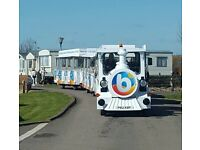 6 birth caravan at bunn leisure