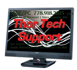 iMac Repair OS Recovery windows 10 computer 778-918-2815