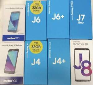 *Dual Sim   Samsung Galaxy J8 J7 J6 J5 J4 J3  J2 J1 FOR SALE*