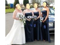 3 x veromia bridesmaid dresses
