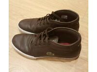 Lacoste Men's leather shoes -brown