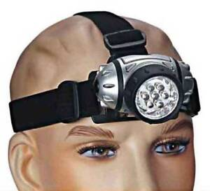 New 7 LED head lamp