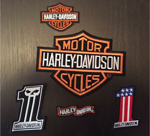 Harley Davidson patches. Lots of different styles!!